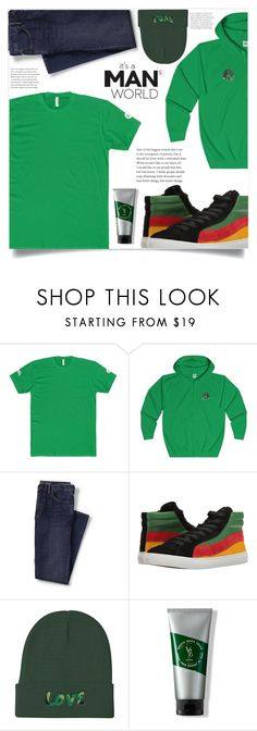 """Men's fashion! (24)"" by samra-bv ❤ liked on Polyvore featuring Lands' End, Paul Smith and V76 by Vaughn"