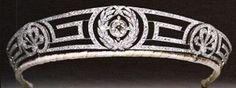 british crown  greek key meander tiara
