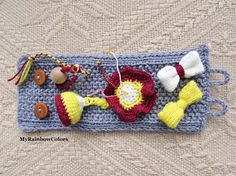 Your place to buy and sell all things handmade Crochet Wrist Warmers, Hand Warmers, Sensory Blanket, Knitting Basics, Fidget Blankets, Knitting For Charity, Fidget Quilt, Dementia Care