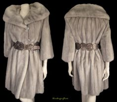 be still your beating heart! glamorous sapphire vintage mink coat only at moxiefurs.com *SOLD*