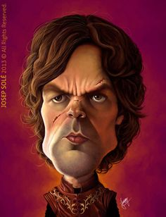 Tyrion Lannister by sole00 http://www.deviantart.com/