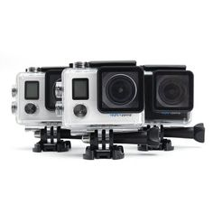 N5B Novatek 96660 Waterproof 2 Inch 170 Degree Wide Angle 4K Ultra HD WIFI Dual Screen Sports DV Video Action Camera