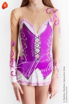 Rhythmic Gymnastics Leotard Ice Figure Skating Dress 8 by Modlen, $149.99