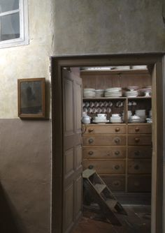 The Still room, Kitchen at Erddig, wrexham, Wales. National trust images
