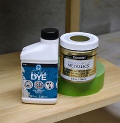 How to Dye Wood - Weekend Craft Unicorn Spit Stain, Metallic Gold Paint, Stain Techniques, Weekend Crafts, Paint Drying, Gold Wood, Pallet Signs, Paint Furniture, Metal Signs