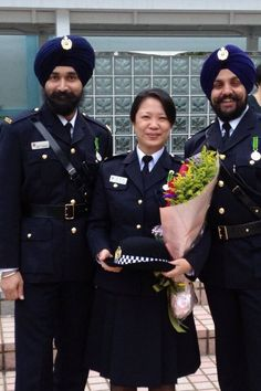 ‪#‎Respect‬ ‪#‎ProudToBeSikh‬ Sikh Police in Hong Kong! Share and Spread the world !