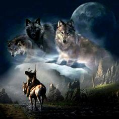 Native American Warrior, Native American Pictures, Native American Artwork, American Indian Art, Native American History, Wolf Images, Wolf Photos, Wolf Pictures, Beautiful Wolves