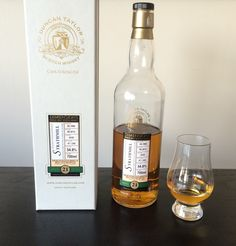 Review #11: Strathmill 21 Duncan Taylor Dimensions #scotch #whisky #whiskey #malt #singlemalt #Scotland #cigars