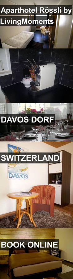 Aparthotel Rössli by LivingMoments in Davos Dorf, Switzerland. For more information, photos, reviews and best prices please follow the link. #Switzerland #DavosDorf #travel #vacation #hotel