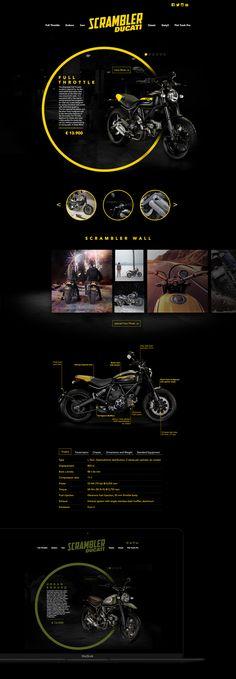 Ducati Scrambler on Behance