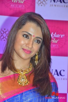 Trisha Inaugurates NAC Jewellers Necklace Mela