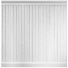 Manor House 8 Linear ft. MDF Overlapping Wainscot Paneling Kit