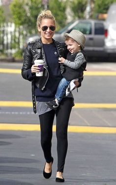 Nicole Richie - just love her effortless style