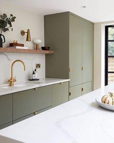 Home Decor Kitchen .Home Decor Kitchen Kitchen Room Design, Modern Kitchen Design, Home Decor Kitchen, Interior Design Kitchen, Home Kitchens, Flat Interior Design, Paris Kitchen, Small Space Interior Design, Minimal Kitchen