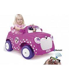 Coches para niños - Coche 6v Minnie Disney RC con aplicación al móvil. Feber 800010251