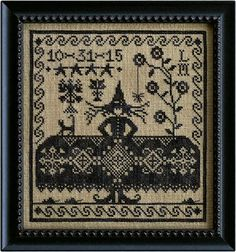 Which Witch from La-d-da cross stitch designs