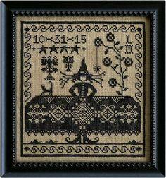 Which Witch from La-d-da cross stitch designs