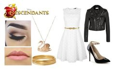"""Liliana Abbott - Descendants OC - Meeting"" by im-a-wizard on Polyvore featuring Tommy Hilfiger, Marni, Yves Saint Laurent and Bold Elements"