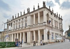 """HIGH RENAISSANCE ARCHITECTURE, North Italy; Palazzo Chiericati, Vicenza, 1510, by Palladio  """"Beauty will result from the form and correspondence of the whole."""" --Andrea Palladio"""