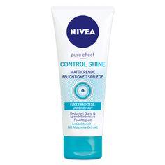 NIVEA Control Shine Mattierende Feuchtigkeitspflege. Erhältlich im NIVEA Shop http://shop.nivea.de/pflege/nivea-pure-effect-control-shine.html #nivea #face #creme