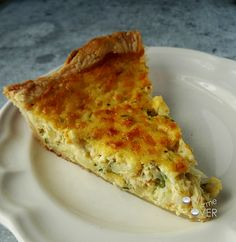 Rustic Zucchini Pie #MeatlessMonday