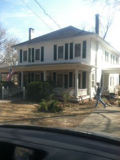 House where Michonne finds Rick and Carl after they flee the prison. Senoia, Ga