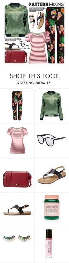 """""""Casual: Pattern Mixing"""" by beebeely-look ❤ liked on Polyvore featuring Valentino, Boohoo, Lime Crime, FromNicLove, Birchrose + Co., casual, casualfriday, streetwear, patternmixing and twinkledeals"""