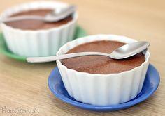 PANELATERAPIA - Blog de Culinária, Gastronomia e Receitas: Mousse de Chocolate Fácil