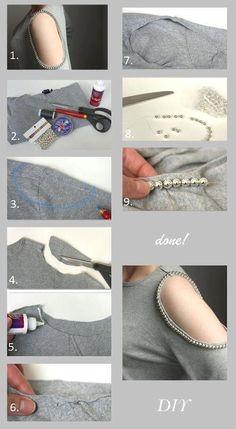 customiser une manche