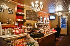 Great coffee at Jimmy's Coffee. In the heart of King West. Photo Credit: Jimmy's Coffee.