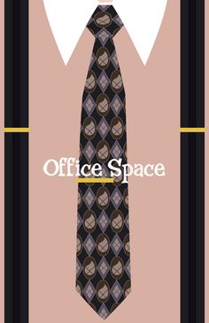 Minimal Office Space poster