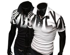 Bronson Polo Shirt - stylish, trendy, in black or white See our facebook page xx