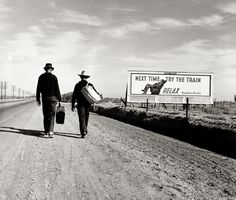 The photography of Dorothea Lange