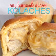 Easy Homemade Chicken Kolaches