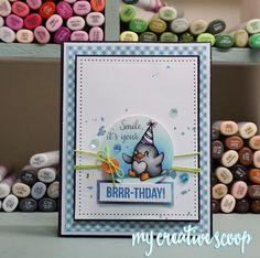 1 Simple Way to Create Productively - My Creative Scoop #Copic #YourNextStamp…