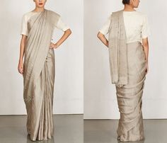 Plain Silk Saree Designs