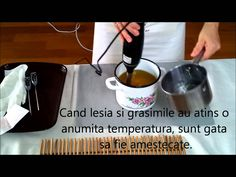 fabricarea sapunului natural superhidratant Soap Making, Make It Yourself, Youtube, How To Make, Youtubers, Youtube Movies