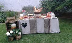 Un bufet encantador #sauleda #catering #wedding #pernil #formatge