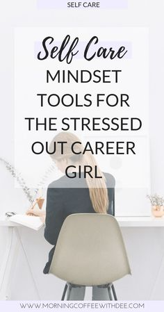Self Care Mindset Tools for the Stressed Out Career Girl Sometimes all we need is a little mindset work to reduce our stress levels. Try these mindset tools for professional self care and see for yourself! Self Development, Professional Development, Personal Development, Workplace Wellness, Positive Mindset, Success Mindset, Growth Mindset, Career Success, Self Care Activities