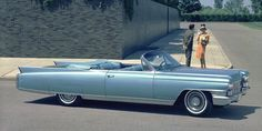 Cadillac ‏@Cadillac As iconic as the open road — a 1963 Cadillac #Eldorado Biarritz. #TBT