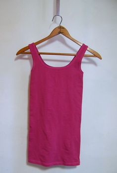 NWT Theory Len Tubular Stretch Tank Top One Size Fits All Mauve Pink $105 #Theory #Pullover