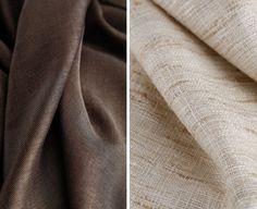 Terra o sabbia?   A sinistra: #Tessuto #Bergamotto #Collezione #Iris  A destra: Tessuto #Ambra Collezione Iris  #tessuti #interiordesign #tendaggi #textile #textiles #fabric #homedecor #homedesign #hometextile #decoration #ctasrl Visita il nostro sito www.ctasrl.com e scarica le nostre brochure su: bit.ly/1nhrLQM