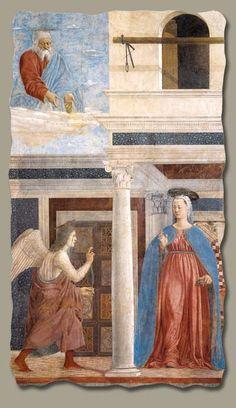 Piero della Francesca (1420-1492):  Annunciation