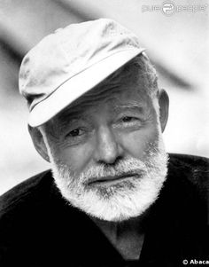 Ernest Hemingway- a fabulous writer. Ernest Hemingway, Patrick Modiano, Unforgettable Quotes, Call Of Cthulhu, Writers And Poets, People Of Interest, Book Authors, Famous Faces, Famous People