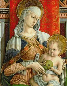 Italian Renaissance, Renaissance Art, Catholic Art, Religious Art, Hans Baldung Grien, Art Chinois, Italian Paintings, Blessed Mother Mary, Art Japonais