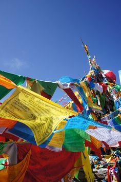 prayer flags #buddhism