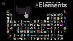 Interactive animated fun periodic table httpmrdooblab the elements a visual exploration app urtaz Choice Image