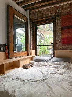 Check out this Rustic, Simple, Practical, Open Small/Cool Space | Apartment Therapy