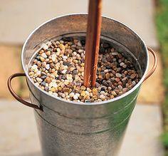 Tiki Torch Anchors Martha Stewart | Garden Club