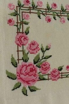 Cross Stitch Boarders, Cross Stitch Fruit, Cross Stitch Rose, Cross Stitch Alphabet, Cross Stitch Flowers, Cross Stitch Charts, Cross Stitch Designs, Cross Stitch Embroidery, Embroidery Patterns